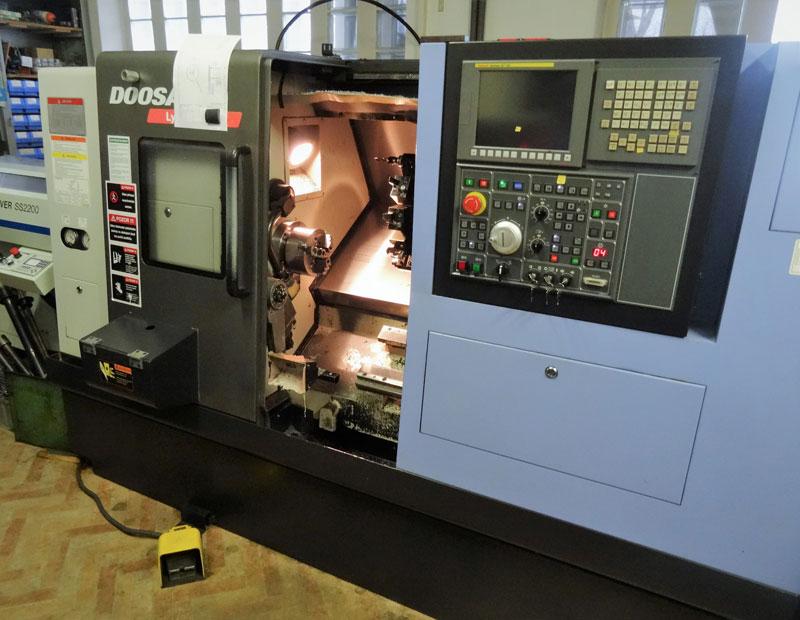 CNC-OBRÁBĚNÍ - stroj Doosan Lynx
