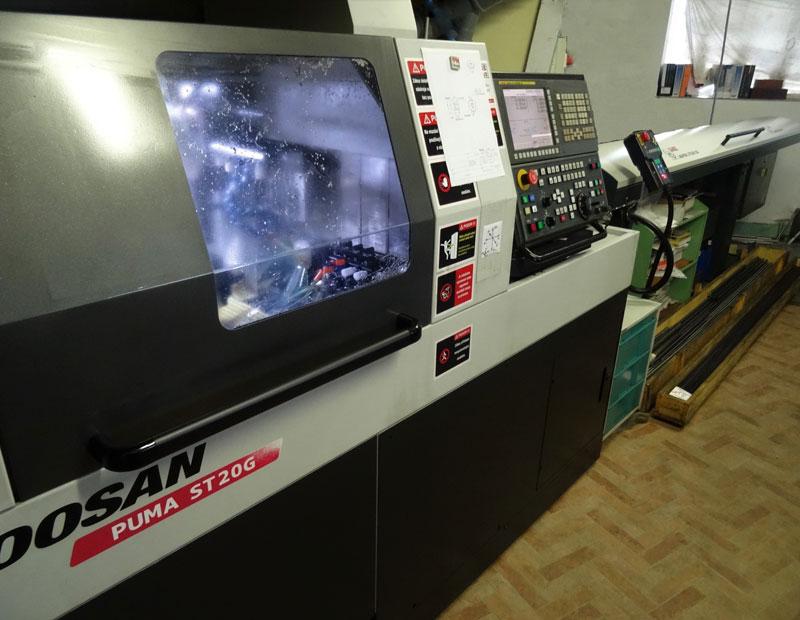 CNC-OBRÁBĚNÍ - stroj Doosan Puma
